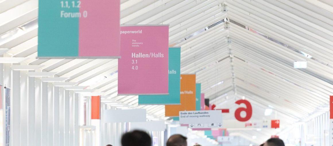 Participation in the PAPERWORLD Frankfurt fair