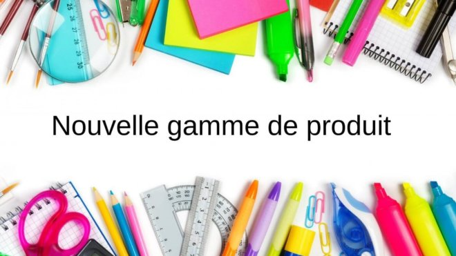 New integrated product range: school and office supplies